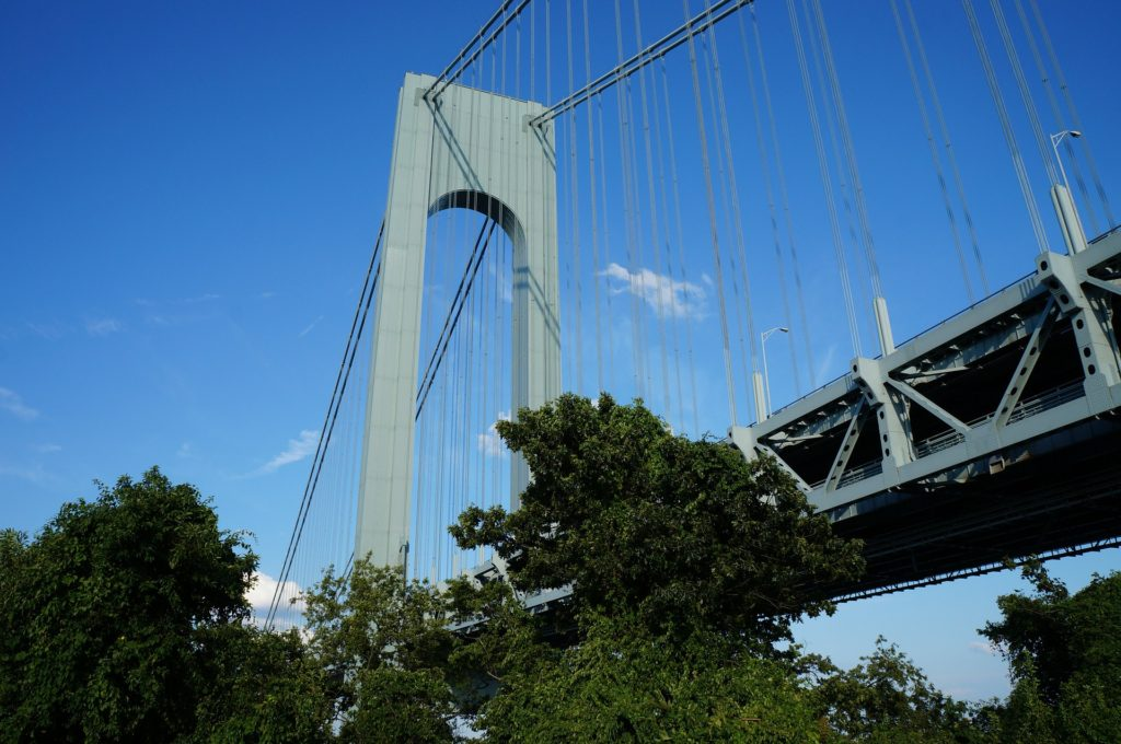 If you want somewhere a bit quieter than the rest of the city, then Staten Island may be the right place for you. It's only connected to the rest of NYC via a bridge to Brooklyn.